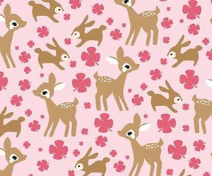 pink, wallpaper, and animal image