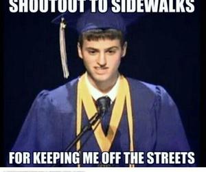 funny, lol, and graduation image