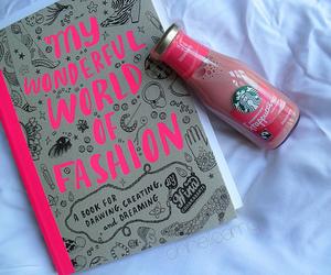 starbucks, fashion, and pink image