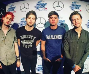 jingle ball and 5 seconds of summer image