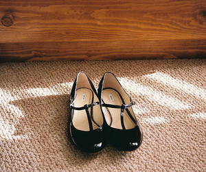 shoes, vintage, and black image