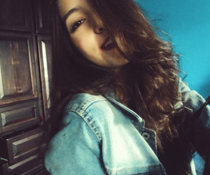 girl, hair, and me image