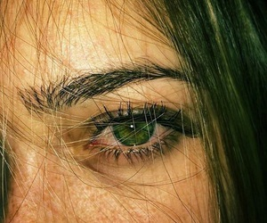 eyes, green, and tumblrgirl image