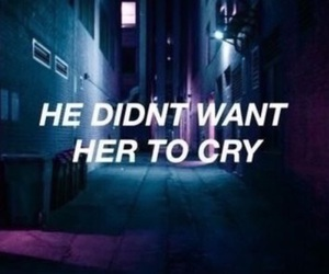 quotes, grunge, and cry image