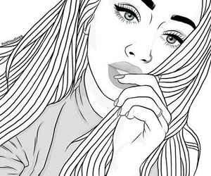 outline, draw, and drawing image
