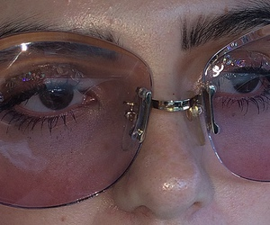 glasses and skin image