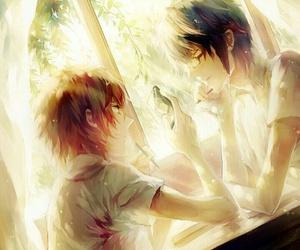 yata misaki, k anime, and fushimi image