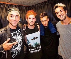 twenty one pilots, all time low, and alex gaskarth image