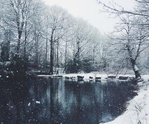 winter, beautiful, and nature image