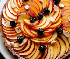 food photography, fruit, and sweet image