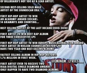eminem and facts image