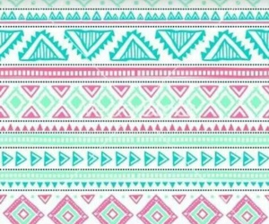 blue, pattern, and pink image