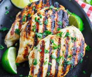 Chicken and lime image