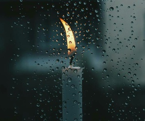 autumn, candle, and love image