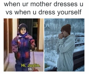 justin bieber, funny, and cold image
