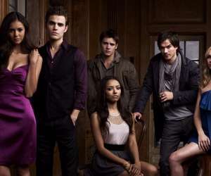 vampire and tvd image