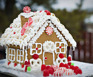 christmas and house image