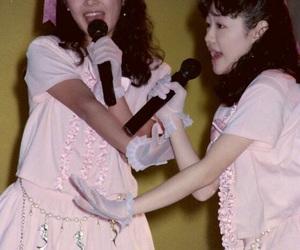girl, idol, and twin image