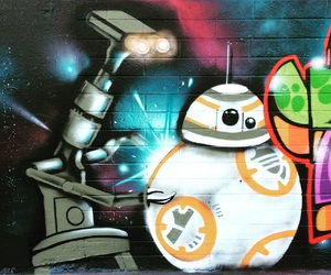 art, downtown, and graffiti image
