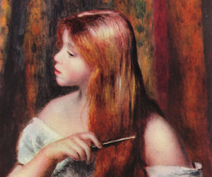 painting, Renoir, and art image
