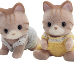cat, doll, and japanese image