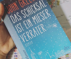 book, buch, and john green image