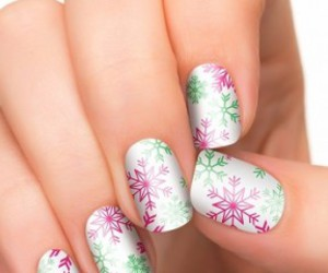 christmas, green, and nails image