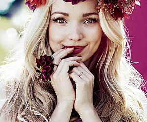 dove cameron, flowers, and actress image