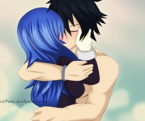 anime, fairy tail, and grey image