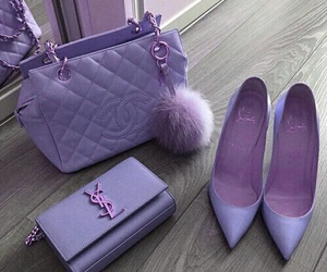 pink, bag, and shoes image