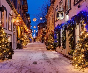 winter, christmas, and snow image