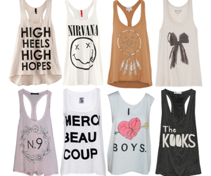 clothes, shirt, and tops image