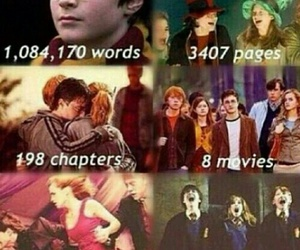 harry potter, book, and movies image
