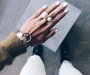 blanco, white, and nails image