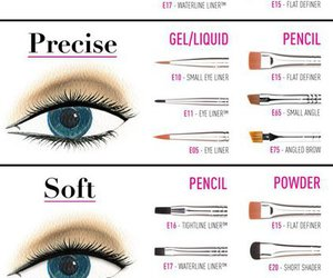 makeup, eyeliner, and tips image