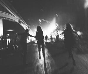 grunge, night, and run image