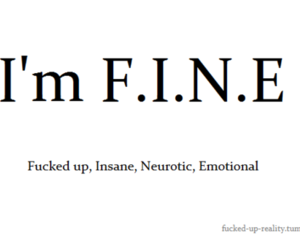 emotional, fine, and text image