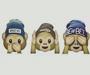 emoji and monkey image