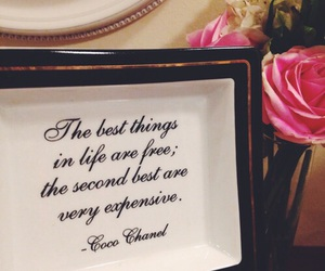 coco chanel, chanel, and quote image