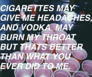 cigarette, vodka, and party image