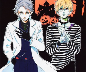 hirunaka no ryuusei, manga, and Halloween image