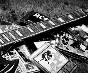 guitar, metallica, and ACDC image