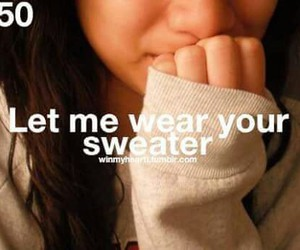 sweater and quote image