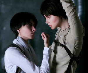 cosplay, eren jaeger, and attack on titan image