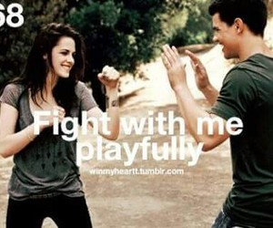 fight and playfully image