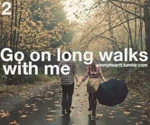 walk, love, and win my heart image