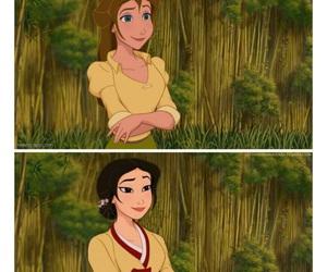 disney, jane, and princess image