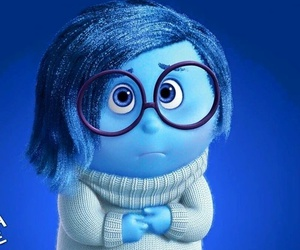 sadness, inside out, and blue image
