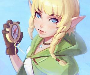 zelda, anime, and game image