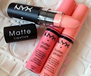 NYX, lipstick, and makeup image